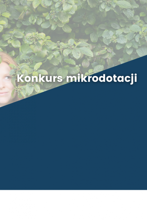 "Konkurs Mikrodotacji ""Green walk around the block"""